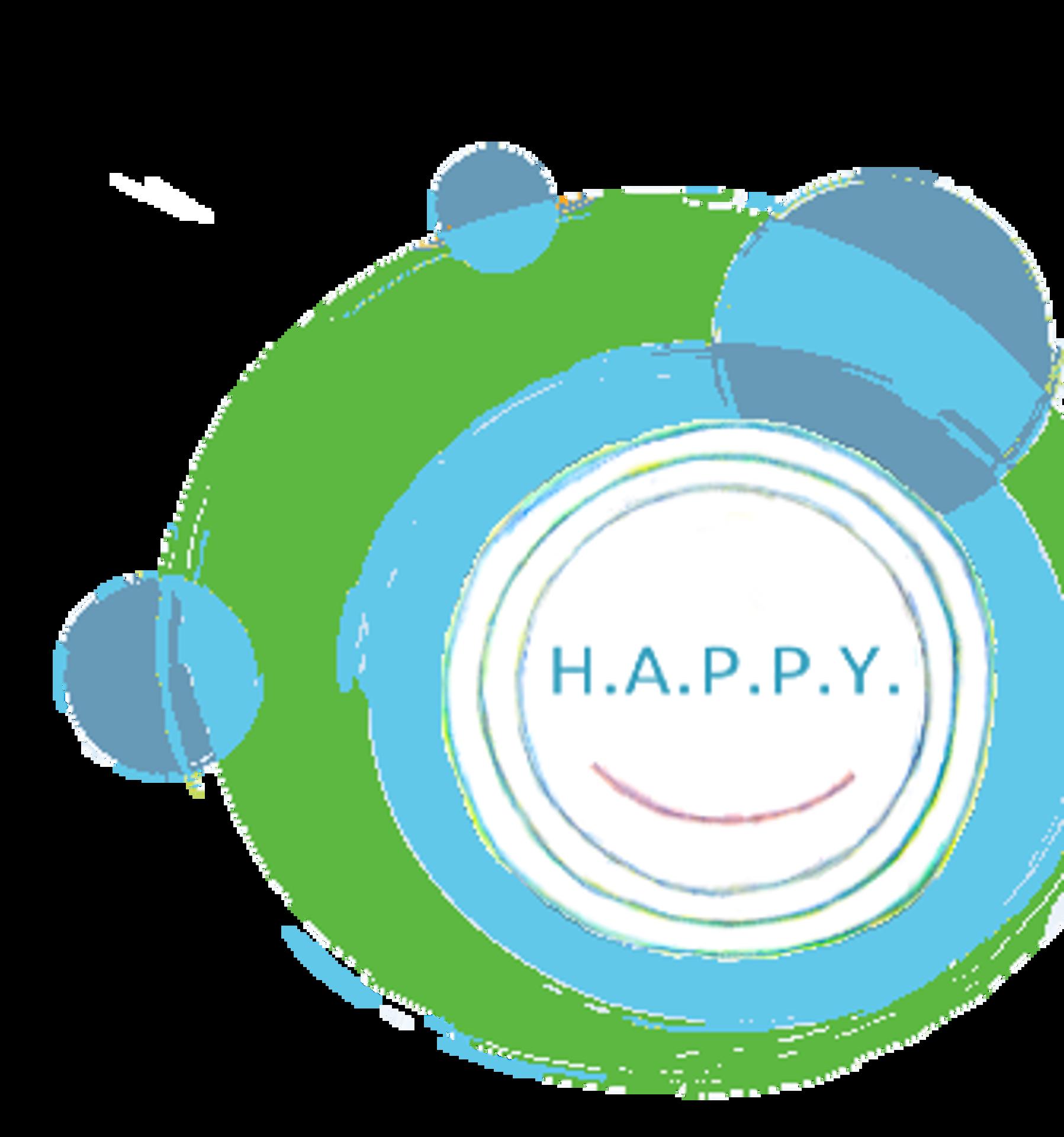 Bollen achtergrond HAPPY logo.png
